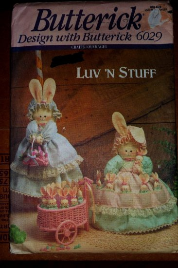 Bunny Hide-Away pattern B 6029 FREE SHIPPING