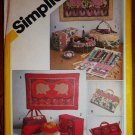 String Quilted Sewing Accessries & Wall Hangings pattern FREE SHIPPING
