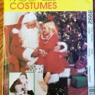 Santa Claus Costume, Bag & 25-inch Doll pattern M 8992  FREE SHIPPING