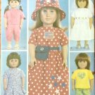 Wedding Dress Honeymoon Clothes B 3875 Pattern for 18-inch Doll FREE SHIPPING