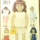 Casualwear B 3491 pattern for 18-inch Doll FREE SHIPPING