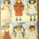 Coat, Hat, Wardrobe B 4699 pattern for 18-inch Doll  FREE SHIPPING