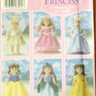 Disney Princess Costumes S 5705 pattern for 18-inch Doll FREE SHIPPING