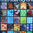 Crazy Daisy Afghans Book No. 7654 For The Hero Crazy Daisy Winder - FREE SHIPPING