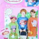 Strawberry Shortcake Knit Sweaters Pattern Book FREE SHIPPING