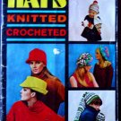 HATS Knitted Crocheted Star Book No. 206  FREE SHIPPING