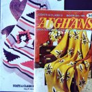 Two Afghan Pattern Books  FREE SHIPPING