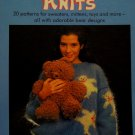 Woolly Bear Knits Pattern  Hard Cover Book - FREE SHIPPING