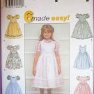 Girls Dresses Pattern S 8491 - FREE SHIPPING