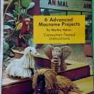 Animal Macrame Art Booklets (2) Perfect Gifts, Bazaar - FREE SHIPPING
