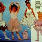 Girls' Leotard, Bag, Ballerina Costume Pattern B 6660 - FREE SHIPPING