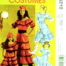 Girls Size 3-8 Gypsy and Country Dress Costume Pattern M 5210 - FREE SHIPPING