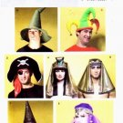 Costume Headpieces, Hats, Headdresses Pattern B 4313 - FREE SHIPPING