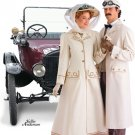 Vintage Style Car Duster Coats and Hatspattern S 2581 - FREE SHIPPING
