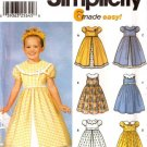 Girls Dress Pattern S 7120 - FREE SHIPPING