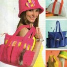 Hats and Handbags Pattern B 4821 - FREE SHIPPING