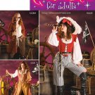 Womens Pirate Costume Pattern S 3677