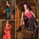 Misses Western Dress and Saloon Girl Dresses Pattern S 2851