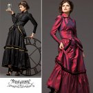 Misses Gothic Steampunk Style Dress Pattern ArkiVestry Collection S 2207