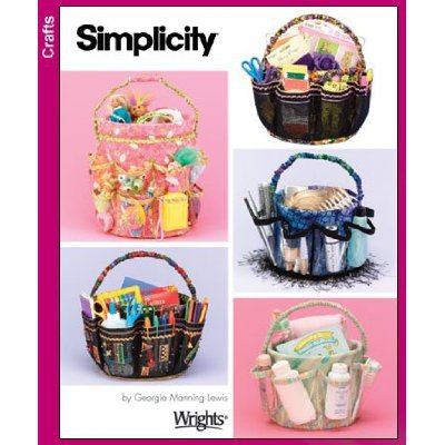 Bucket Covers Pattern S 4232 - FREE SHIPPING