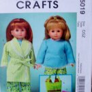 18 Inch Doll Pajama Party Pattern M 5019 - FREE SHIPPING