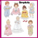Baby Doll Clothes Pattern S 5419 - FREE SHIPPING