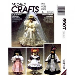 Wedding Gown Victorian Dolly Dress - Free Patterns - Download Free