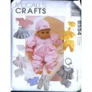 Doll Clothes Pattern 3 sizes M 8554 - FREE SHIPPING