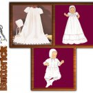 Infants Christening Ensemble Pattern B 4052 - FREE SHIPPING