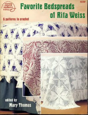 Favorite Bedspreads of Rita Weiss #1039