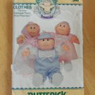 Original Butterick Cabbage Patch Doll Preemie Pattern #346  FREE SHIPPING
