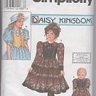 Daisy Kingdom Dress With Doll Dress Pattern S 8404 - FREE SHIPPING