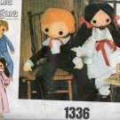Little Vogue 1336 Vintage Doll & Clothes Pattern - FREE SHIPPING