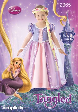 Disney's Tangled Costume Pattern - FREE SHIPPING