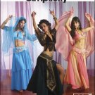 Misses Belly Dance Costumes (3) Pattern - FREE SHIPPING