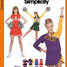 Girls Cheerleader Costumes Pattern S 3689 - FREE SHIPPING