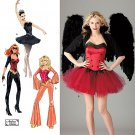 Corset, Tutu, Andrea Schewe Costume Misses Pattern S 2067 - FREE SHIPPING