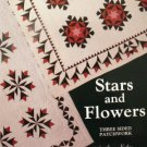 Stars & Flowers Quilt Book - FREE Shipping