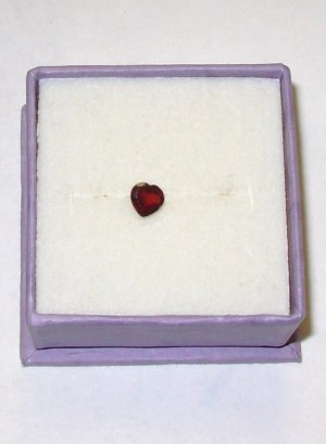PYROPE GARNET HEART 5MM SWEET HEART CUT LOOSE GEMSTONES