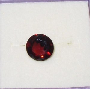 GEMSTONE RUBELLITE TOURMALINE ROUND CUT 5 CT LOOSE GEMSTONES