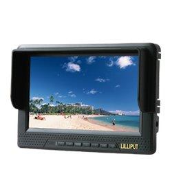 """LILLIPUT 7"""" 668GL-NP/H/Y FOR CAMERA W/HDMI & BNC YPbpr +2 battery"""