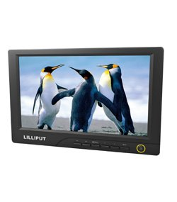 """LILLIPUT 8"""" 869GL-80NP/T 16:9 widescreen  DVI HDMI TOUCH SCREEN MONITOR with auto switching wiring"""