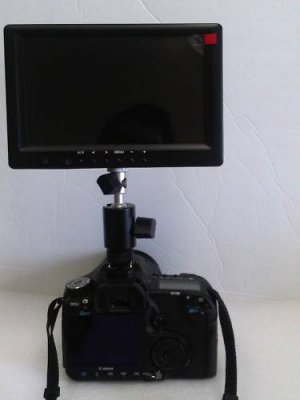 "LILLIPUT 7"" 669T VGA HDMI TOUCH SCREEN + 1/4 SHOE MOUNT"