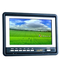LILLIPUT 7&quot; HR701-NP HEADREST/STAND ALONE LCD MONITOR