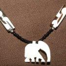 White Elephant Bead Necklace