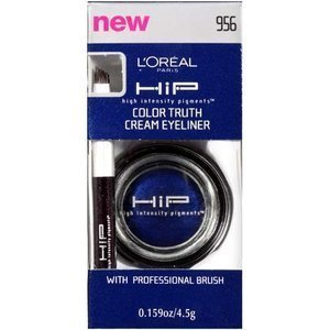 """L'OREAL L'OREAL HIP COLOR TRUTH CREAM EYELINER # 956 MIDNIGHT BLUE """"FREE DOMESTIC SHIPPING ONLY"""""""