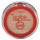 L'Oreal Infallible Never Fail, 668 Natural Beige Powder, 0.30 Ounce, 1 Pack