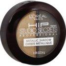 L'Oreal HiP Studio Secrets Professional Metallic Shadow Duo, Shocked 310 0.08 oz (2.4 g)
