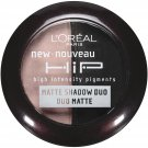 L'Oreal Paris HiP high intensity pigments Matte Shadow Duos, Dashing 917, 0.08 Oz