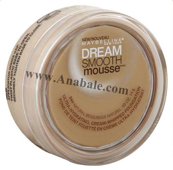 Maybelline New York Dream Smooth Mousse Foundation, 240 Natural Beige, 0.49 Ounce